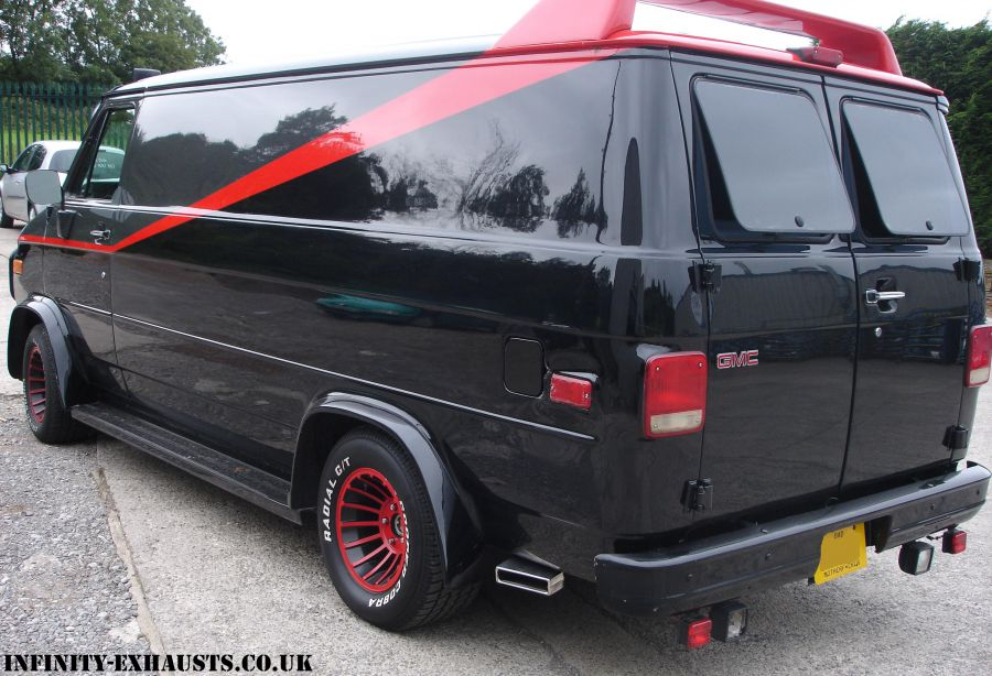 Infinity Exhausts - Dodge A-Team Van - Image 25