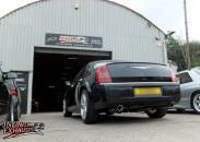 300C custom exhaust