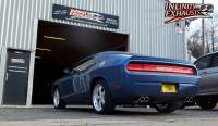 Challenger stainless exhaust