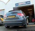 Audi A3 TDi stainless exhaust