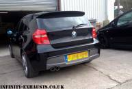 BMW 1 series Stainless Exhaust