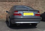 BMW 3 series Stainless Exhaust