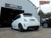 Abarth custom exhaust
