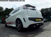 Punto Abarth Stainless exhaust
