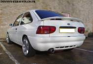 Escort Stainless Exhaust