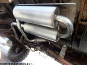 Military stainless exhaust